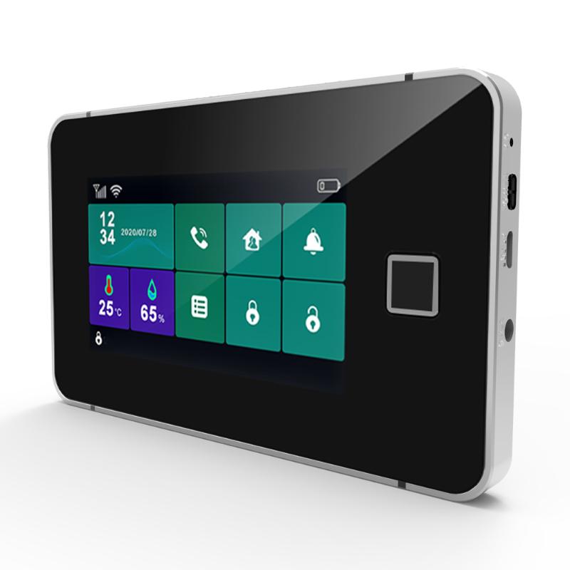 Bộ Báo Động Chống Trộm Qua WIFI + Sim GSM HT19